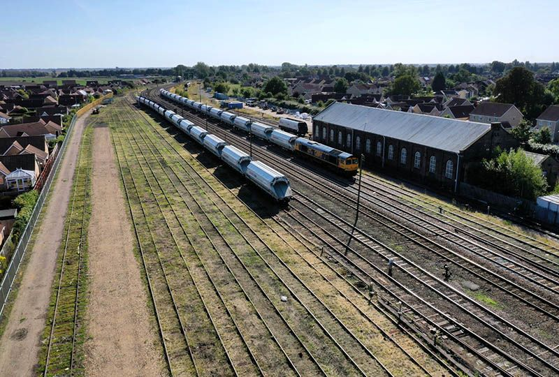 image: UK, GBRf, GB Railfreight, March, Cambridgeshire, facilities, simulator,