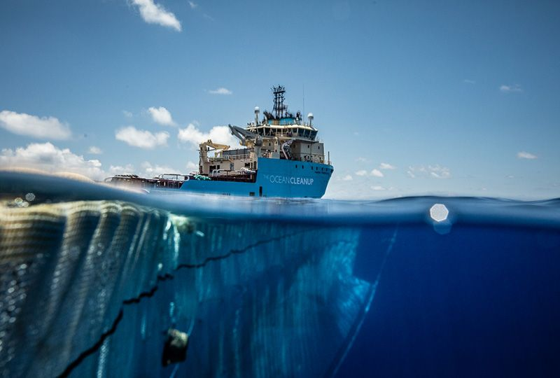 image: Denmark, Netherlands, Ocean, Cleanup, Maersk, Supply Service, pollution, plastic,