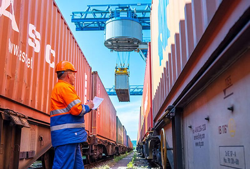 image: witzerland Dubai Swissterminal DP World container terminal port operator freight