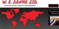 W E Deane Ltd.  Featured Profile